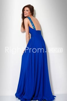 Gorgeous+A-Line+Floor-Length+Scoop+Homecoming/Evening+Dresses