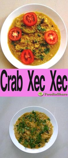 """Crab Xec Xec is a traditional Goan crab curry. This recipe is based on Ivo Almeida Coutinho's recipe in the cookbook """"A Day in a Goan Kitchen"""". See more at foodizshare.com"""