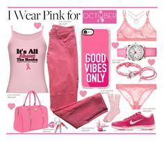 """""""IWPF--Good Vibes for all Women..."""" by vkevans ❤ liked on Polyvore featuring STELLA McCARTNEY, Kim Rogers, Sandro, Casetify, Anchor & Crew, Oxford Ivy, NIKE, Movado, Brooks Brothers and Religion Clothing"""