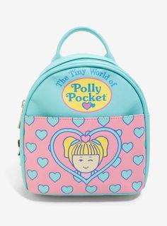 Polly Pocket Mini Backpack Bag on Mercari Hot Topic, Polly Pocket Dolls, Mini Backpack Purse, Tiny World, Cute Bags, Princesas Disney, Luxury Handbags, Mini Bag, Pink Blue