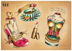 Not really Alice, but the tea cup pulls me that way. :-). Love Hurts by Dea Vectorink