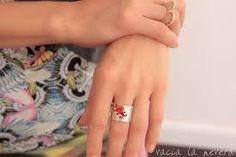 Resultado de imagen para anillo de corazon en laton