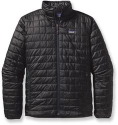 Patagonia Nano Puff Jacket - Black - This is my jacket of choice for just about all I do.
