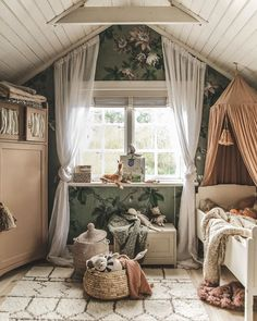 Room Interior, Interior Design, Cute Bedroom Ideas, Cottage Design, Nursery Inspiration, Kidsroom, Decoration, Kids Bedroom, Baby Room