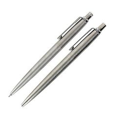 The #Jotter Ballpoint Pen was the first ballpoint pen ever to be sold by #Parker. With its iconic design featuring clean lines and a simple streamlined shape, thi...