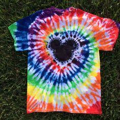 Adult Medium Mouse Head Rainbow Tie Dye with Black, Mouse Head Tie Dye, Rainbow Tie Dye, Unisex Tie Tie Die Shirts, Diy Tie Dye Shirts, Kids Tie Dye, How To Tie Dye, Tie Dye Rainbow, Rainbow Swirl, Tye Dye, Tie Dye Party, Tie Dye Crafts