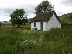 House Plans and Design: House Plans Small Thatched Cottage Cottages Scotland, Cozy Cottage, Cottage Ideas, Thatched Roof, Small Buildings, Cabins And Cottages, Stone Houses, Small House Plans, Adventure Is Out There