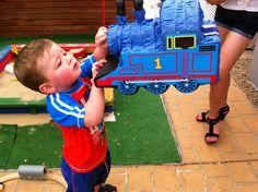 thomas the train party diy | party, Thomas the Tank Engine, fun, kids, pinata