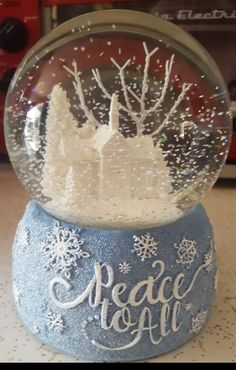 Snow Globes, Home Decor, Interior Design, Home Interior Design, Home Decoration, Decoration Home, Interior Decorating