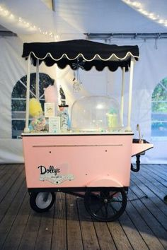 Cotton Candy Cart at Wedding | photography by aldersphotography...