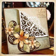 Great Heartfelt Creations Class! Thanks Emma Lou, Creative director of Heartfelt Creations!