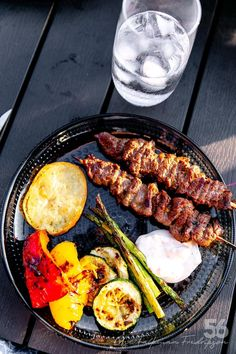 Marinerade Lövbiffsspett Asian style - 56kilo.se - Recept, inspiration och livets goda Low Carb Recipes, Healthy Recipes, Healthy Food, Asian Kitchen, Barbecue Grill, Diet Tips, Food Hacks, Food Inspiration, Sausage