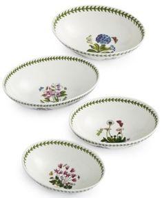 Portmeirion Botanic Garden Bowls Collection