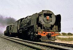 Double header with 3512 nr Spytfontein (prof Tags: southafrica railway steam locomotive railroads Diesel Locomotive, Steam Locomotive, South African Railways, Double Header, World Best Photos, Pjs, Planes, Automobile, Around The Worlds
