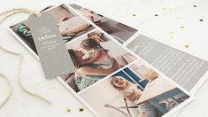 Kartenset Trio - Grau Wraps, Polaroid Film, Gift Wrapping, Gifts, Branches, Christmas Cards, Stars, Projects, Paper Wrapping