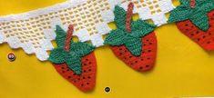barrado de morango | croche croche