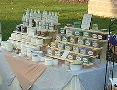 Awesome soap display!