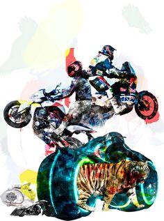 Illustrations for Wheel-e, print and digital magazine. Digital Magazine, My Works, Sci Fi, Behance, Profile, Illustration, Movie Posters, Art, User Profile
