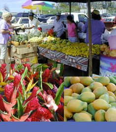 The farmer's markets in Hawaii make it easy to eat healthy & ono all year round!