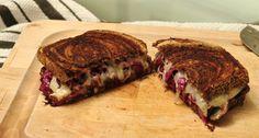 Vegetarian Reuben #ontheblog #sandwich #panini #vegetarian