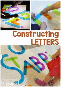 Making Letters by Pl