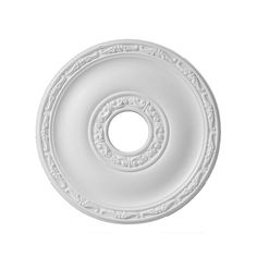 Add an elegant finishing touch to your ceiling lights with this white polyurethane ceiling rose. It has a diameter of and creates a traditional frame with its stylish design. Ceiling rose by Colours Ceiling Rose, White Ceiling, Ceiling Lights, Traditional Frames, Ceiling Medallions, Reception Rooms, Light Fittings, Light Shades, Colours