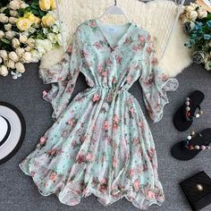 Stylish Dresses For Girls, Summer Dresses For Women, Casual Dresses, Girls Fashion Clothes, Fashion Dresses, Clothes For Women, Ladies Fashion, Pretty Dresses, Beautiful Dresses