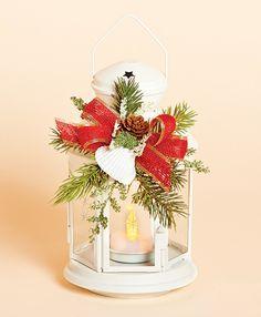 christmas lantern decor | Coastal Christmas Decorations & Accents | OceanStyles.com