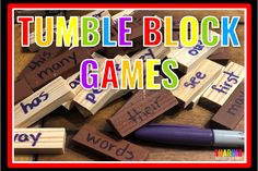 Raise your hand if you are a huge fan for the dollar store? Me! I can't wait to share an idea for a simple tumble block game.