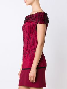 Roland Mouret off shoulder knit top