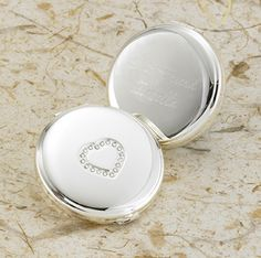 Buy a Sweetheart Silver Plated Compact Mirror that can be personalized. This faux crystal heart is the perfect gift. Size x Suitable for just about any special occasion, such as Valentine's Day, a Birthday, or Anniversary. Gifts For Him, Gifts For Women, Heart Mirror, Personalized Bridesmaid Gifts, Compact Mirror, Bridesmaid Jewelry, Bridesmaids, Online Gifts, Valentine Day Gifts