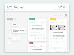 Task, Memo, Schedule, Weather & etc.