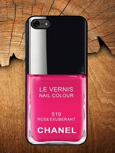 Chanel Nail Polish Phone Case