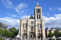 La Basilique St. Denis, Paris France