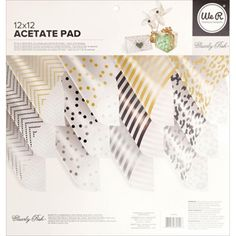 We R Memory Keepers CLEARLY POSH 12x12 Acetate Pad 662550