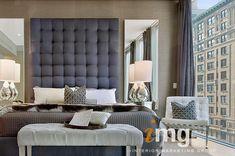 Staged Master Bedroom by Cheryl Eisen