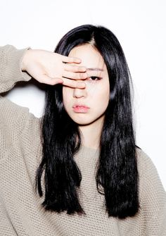 Black hair Moon JuYeon by Na Jhin Beauty Makeup, Hair Makeup, Hair Beauty, Ulzzang, Natural Hair Styles, Short Hair Styles, Girly, Good Hair Day, About Hair
