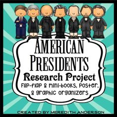 Presidents Research Project  Teacher And Students