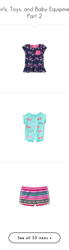 """Girls, Toys, and Baby Equipment Part 2"" by my-creative-mess ❤ liked on Polyvore featuring baby girl, shorts, girl shoes, kids, shoes, solar pink black, skating, baby, baby clothes and baby girl clothes"