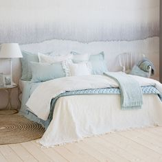 FRILLED COTTON BEDSPREAD AND CUSHION COVER - Bedspreads - Bedroom | Zara Home Norway