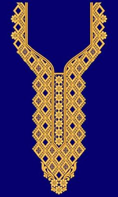 New Neck Embroidery Design 19717