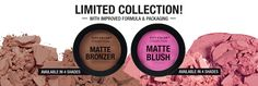 Mascara, Eye Shadow, Bronzers, Foundations, Primers - City Color Cosmetics