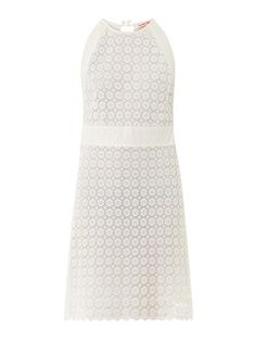 Daisy lace dress | See by Chloé | MATCHESFASHION.COM Little White Dresses, See By Chloe, Fashion Addict, Lace Dress, Daisy, High Neck Dress, How To Wear, Stuff To Buy, Wedding