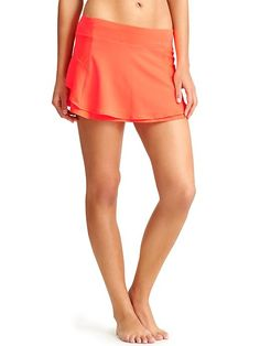 Bustle Skort - Stay cool while you get your run on in this CoolTouch™ and mesh skort with a rear pocket to stash your keys and money.