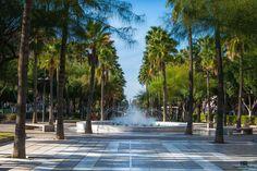 Fuente, Rambla de Almería.