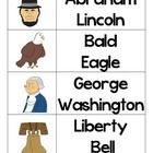 These cards can be used as a matching game, flash cards,  vocabulary cards, etc. to review or introduce American Symbols.  Symbols included are:  Am...