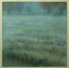 Frost in the Mist by Ellen LoCicero Acrylic on Paper