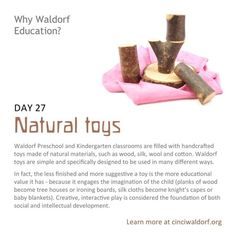 """""""Natural toys"""" Things We Love About Waldorf Education"""