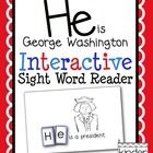 """This is an emergent reader to provide students with an opportunity to learn to read and spell the sight word """"he"""" in a hands-on way.  Each page of ..."""