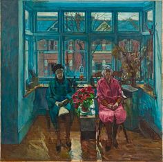 The late William Bowyer RA's THE SISTERS at the RA Summer Exhibition 2015